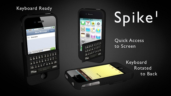 Spike gives your iPhone a real keyboard