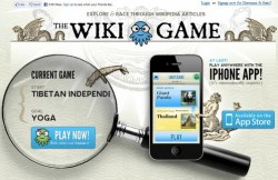 The Wiki Game is like Trivial Pursuit on steroids
