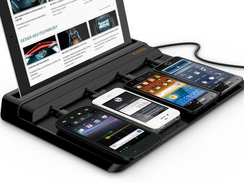 Super Charger Dock keeps the whole family charged and ready