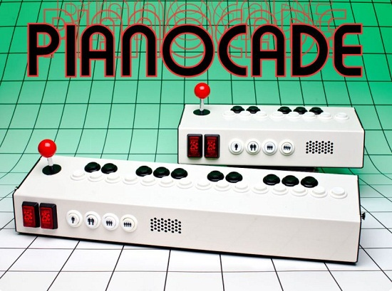 Pianocade lets you create your own arcade music