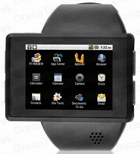Rock Android Watch Phone is the ultimate geek gadget