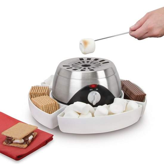 Indoor Flameless Marshmallow Roaster makes the perfect smores