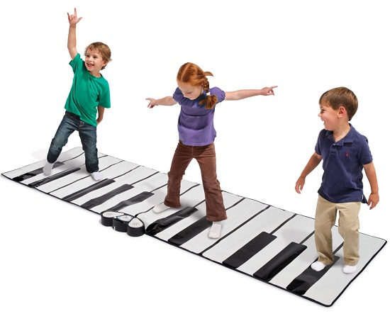 World's Largest Toe Tap Piano has you dancing to the music