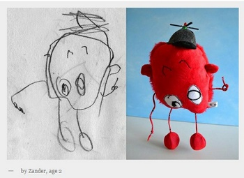 Child's Own Studio lets your child create their own soft friend for life