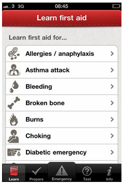 firstaidbritishredcross3 1 First Aid by British Red Cross is the smartphone app that could save a life [Freeware]