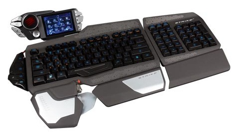 Mad Catz S.T.R.I.K.E. 7 Gaming keyboard makes your gaming setup a battle station
