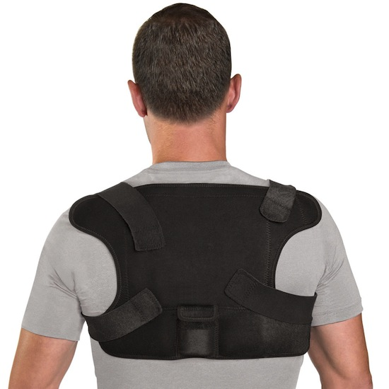 Place Anywhere Cordless Heated Back Wrap will have you comfy-cozy in no time