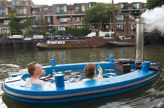 The HotTug is a getaway for your getaway