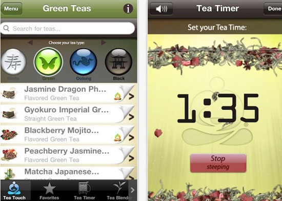 Teavana Perfect Tea Touch wants to make sure every cup of tea is the best one