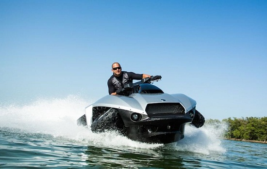 Quadski is the car-boat you've always wanted and never needed