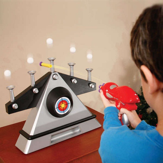 Floating Target Shooting Gallery makes sure you'll be able to shoot the stink off a fly