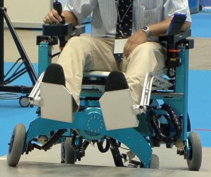 Crazy Robot Wheelchair climbs steps like a champ