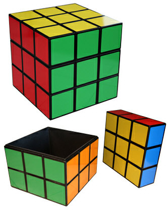 Rubiks Cube Seat Table – accurate retro furnishings for the geek in you