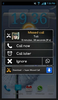 Super Missed Call – take control of your missed phone calls [Freeware]