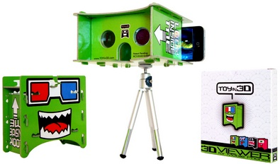 TOYin3D turns your cell phone into an instant 3D player