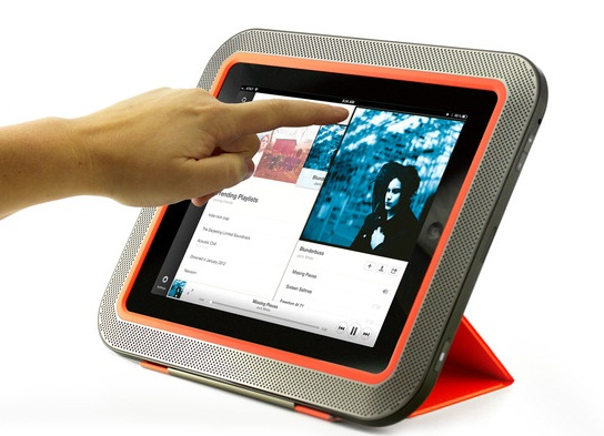 ORA Speaker Stand ORA gives you the sound quality you wish you had for your iPad