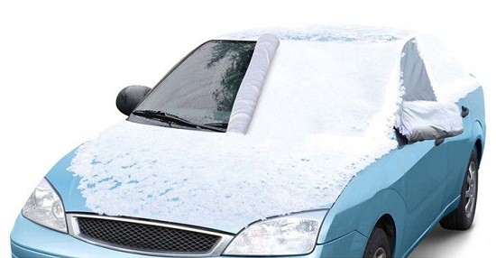 Windshield Snow Cover fights the cold so you don't have to