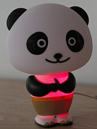 Panda Robot Talking Lamp Clock is the kind of robot buddy we can live with