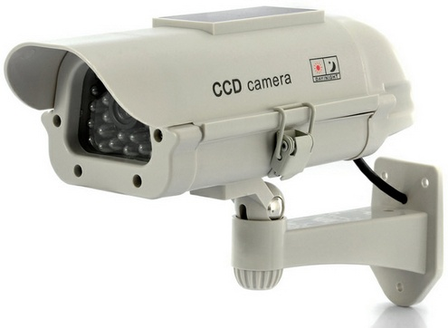 solarpowerdummycamera Solar Powered Dummy Camera   keep your place safe with sunshine security Inc