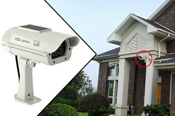 Solar Powered Dummy Camera – keep your place safe with sunshine security Inc