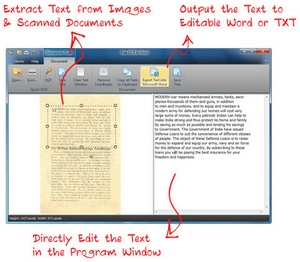 freeocrtoword3 FreeOCRtoWord   converts images to Word editable text with impressive results [Freeware]