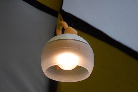 Mini Hozuki LED Candle Lantern is the little light that could