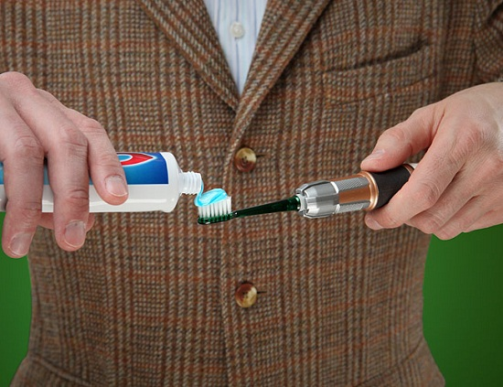 Doctor Who Sonic Screwdriver Toothbrush might not save you in a pinch, but will protect your pearly whites