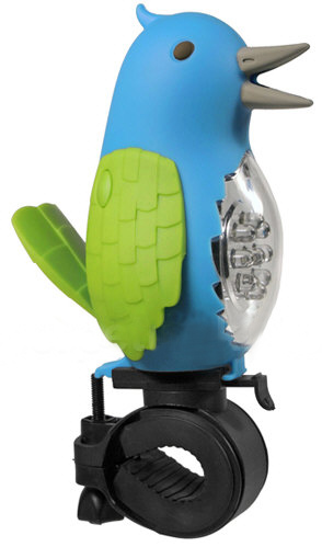Tweeting Bird Bike Light & Horn – why follow when you can lead with style?