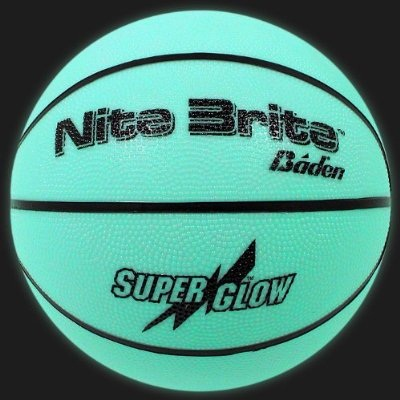 Glow In the Dark Basketball – Can you dribble in the pale moonlight?