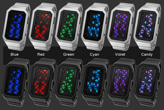 TokyoFlash Kisai Adjust is a light show on your wrist