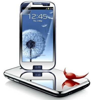Mirror Screen Protector – turn your phone into a pocket mirror and struggle?