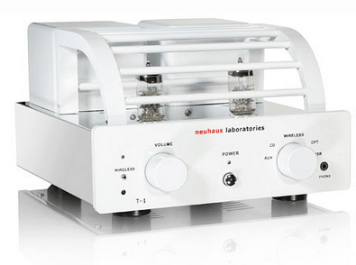 Neuhaus T1 Bluetooth Tube Amplifier – why shouldn't your phone audio look awesome too?