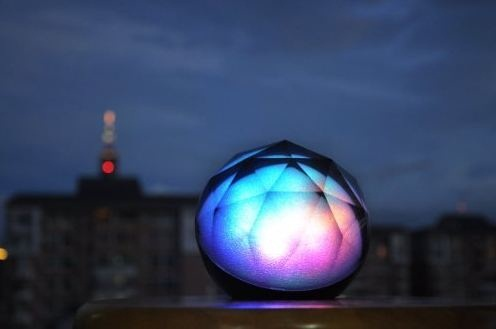 BlackDiamond3 color changing speaker feels the beat…do you?