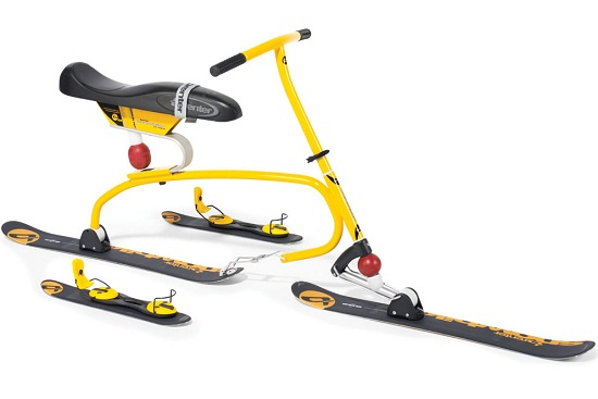 The Snow Cycle is the tricycle of skis