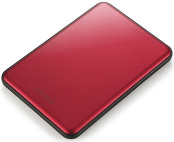 Buffalo MiniStation Slim – thin as a pencil but still enough to store 150,000 photos