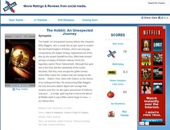 buzzscale2 Buzzscale   movie ratings from social media