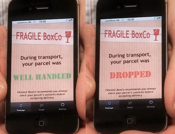 DropTag – fight back against rough baggage and package handlers ruining your stuff