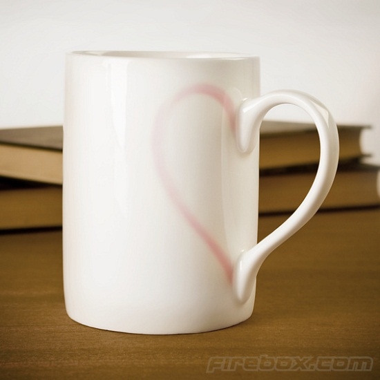Heart Mug is a daily reminder of love…and coffee