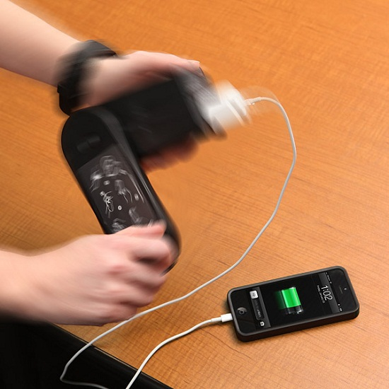 Pocket Socket Hand Generator – gain the power of electricity