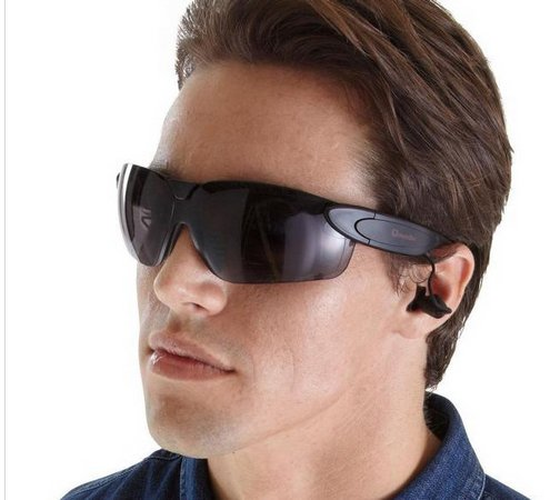 Qmadix iHarmonix Bluetooth Eyewear – cool looking hands free sunglasses…really?