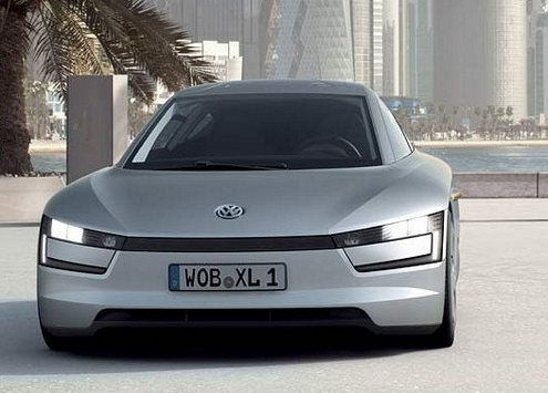 vwxl1 VW XL1 Hybrid   review suggests that were finally going to see a real 300mpg car for sale