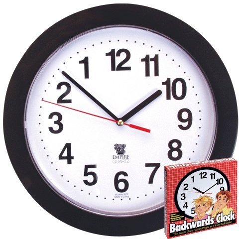 Backwards Wall Clock will have your head spinning