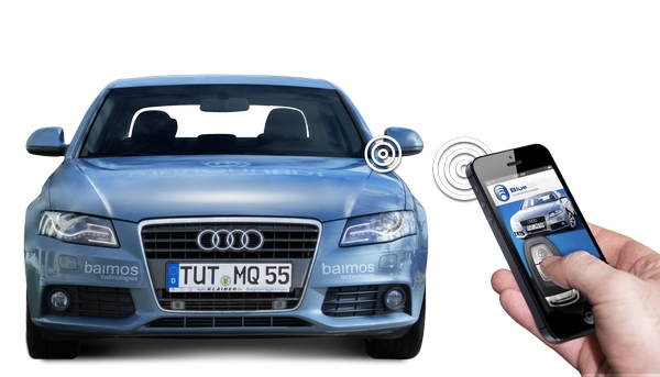Blue ID – your phone as a car key