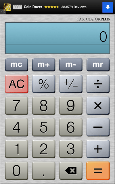 Calculator Plus – finally, the Android calculator we've been waiting for [Freeware]
