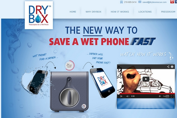 Dry Box – save a wet phone FAST!