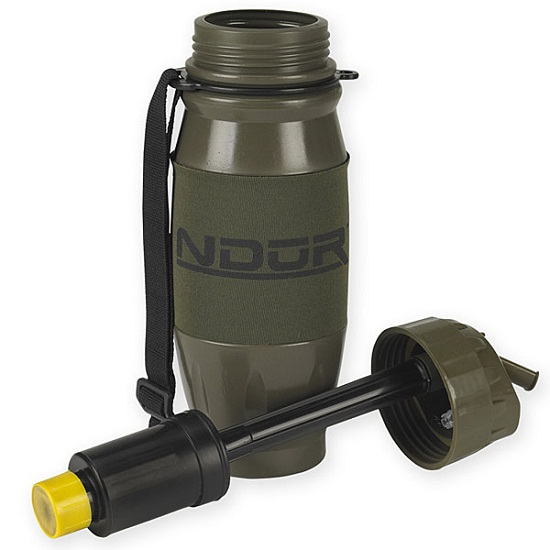 NDuR Advanced Portable Filtration Bottle will work 'round the globe