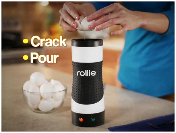 Rollie Eggmaster – pop up toaster for eggs makes an absolute mockery of our breakfast conventions