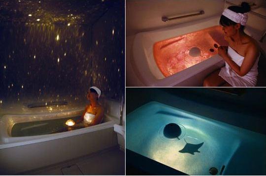 Homestar Spa bath planetarium will let you swim among the stars