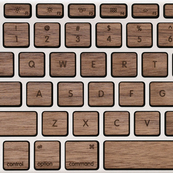 Lazerwood Keys for Macbook Pro will add an air of flare