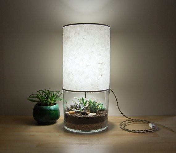 Terrarium Table Lamp